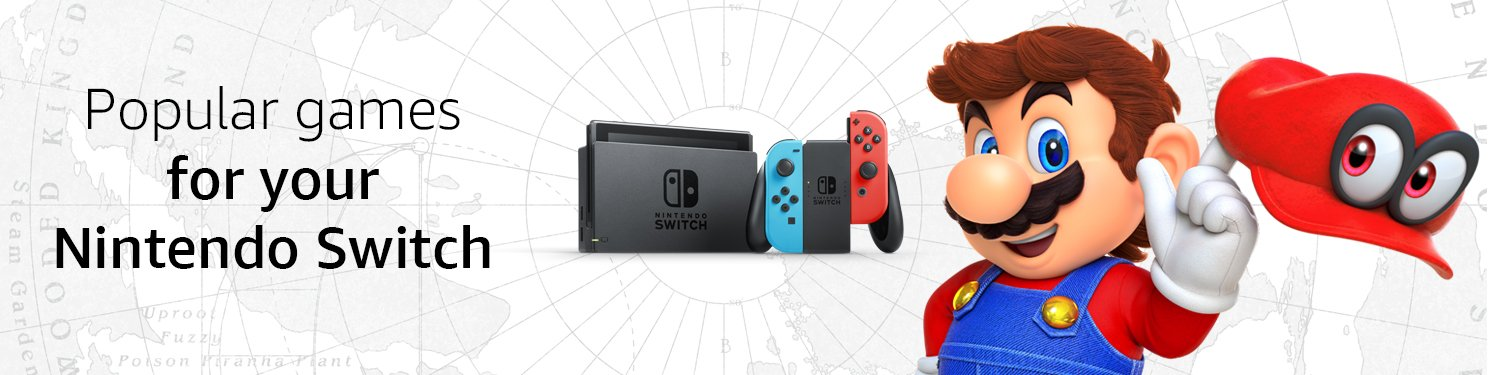 Popular games for your Nintendo Switch