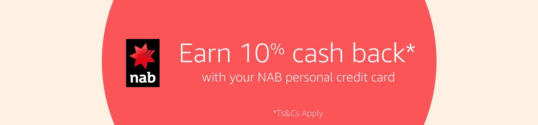 10% cash back*