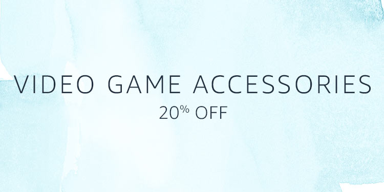 20% Off Video Game Accessories