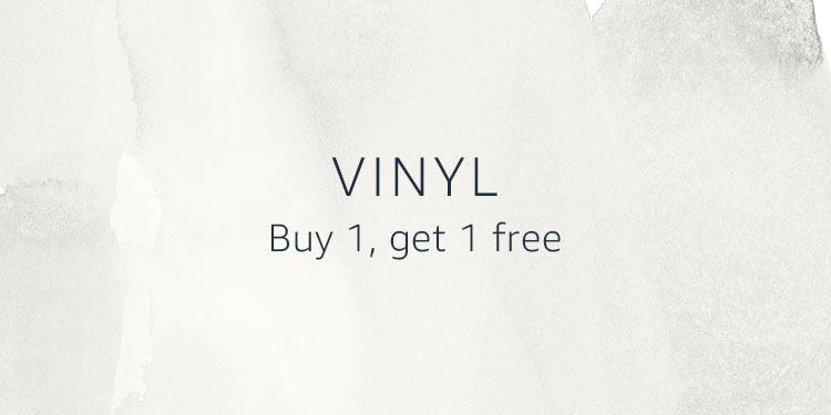 Vinyl Buy 1, get 1 free