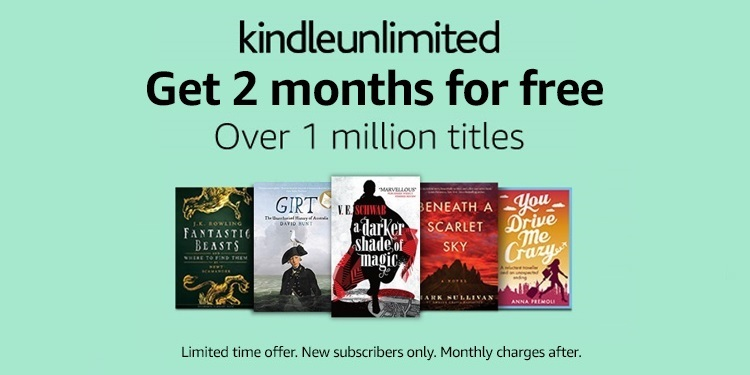 Get 2 months free access to Kindle Unlimited (for new subscribers)