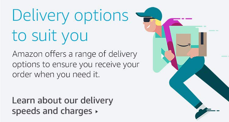 Delivery options to suit you
