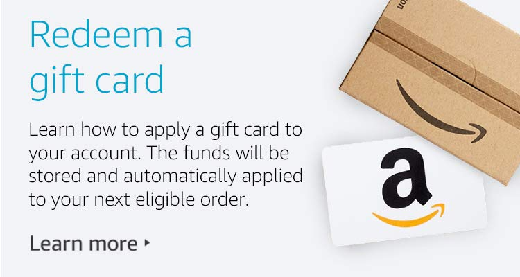 Been given a gift card?