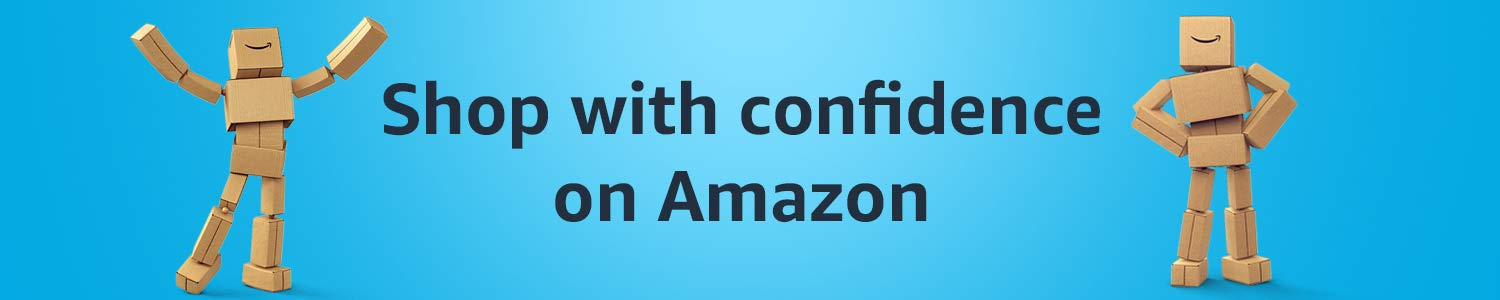 Shop with confidence on Amazon