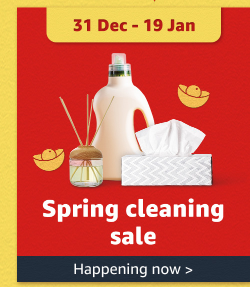 Spring cleaning deals
