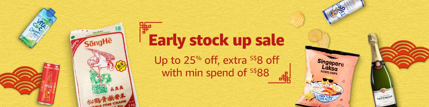 Early Stock Up Sale