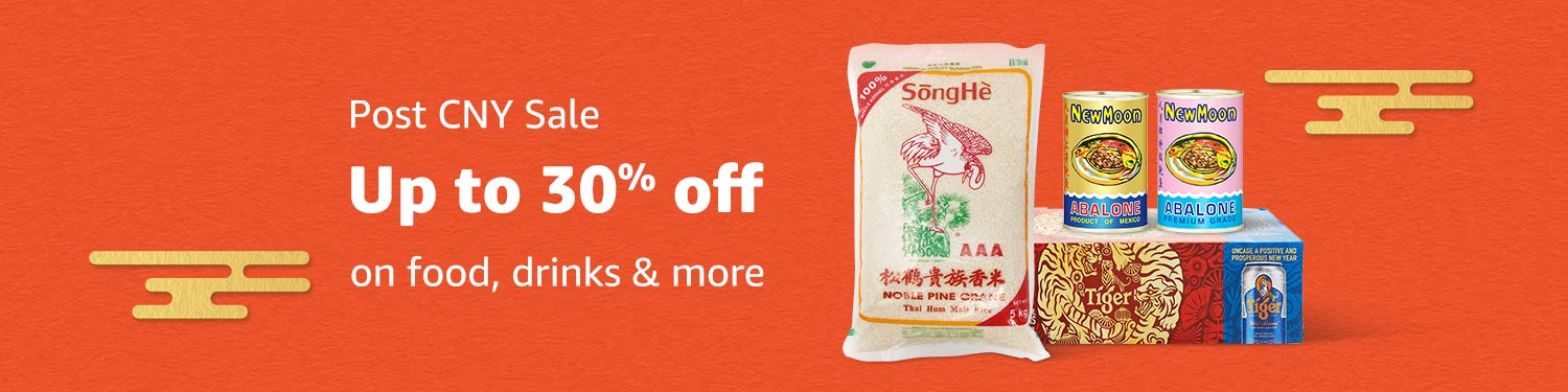 Post CNY Sale | Up to 30% on food, drinks & more