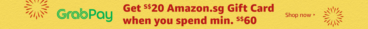 Get S$20 Amazon.sg Gift Card when you spend min. S$60