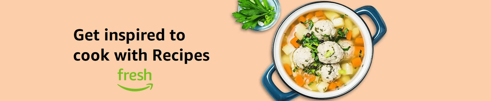 Get inspired to cook with Recipes