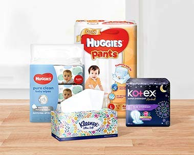 Get S$8 off with min. $65 spend on Kimberly-Clark