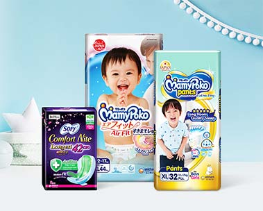 S$15 off S$80 | Up to 30% off Unicharm