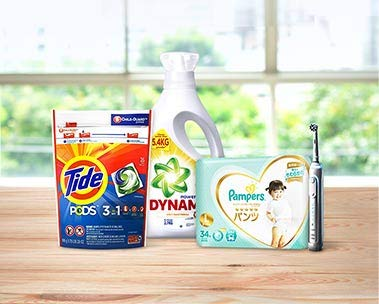 P&G | Up to 30% off, S$6 off with min. S$40 spend