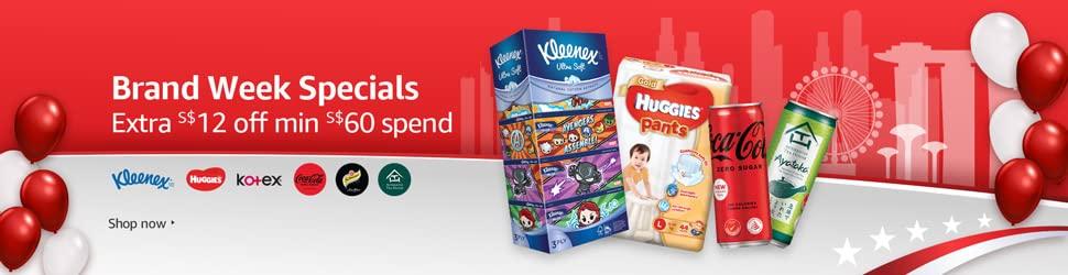 Brand week specials