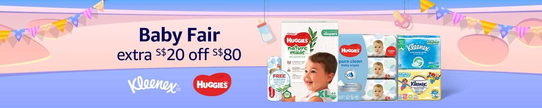 Baby Fair | Extra S$20 off $80