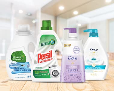 Get S$5 off min. S$30 spend on Dove, Persil & more