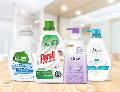 Buy 3, get 30% off Dove, Persil and more
