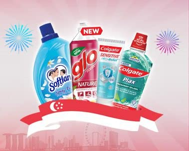Up to 56% off, extra S$4 off S$25 on Colgate & more