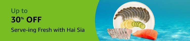 Up to 30% Off Serv-ing Fresh With Hai Sia