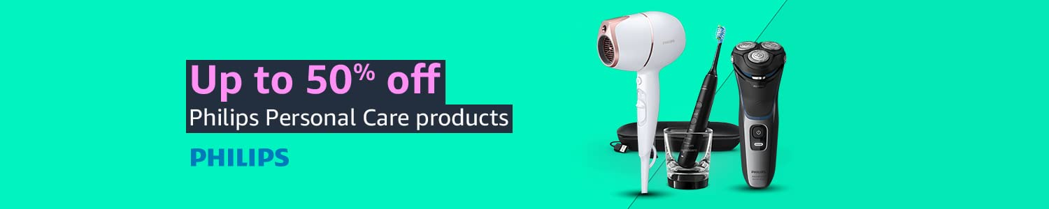Up to 50% off | Philips Personal Care products