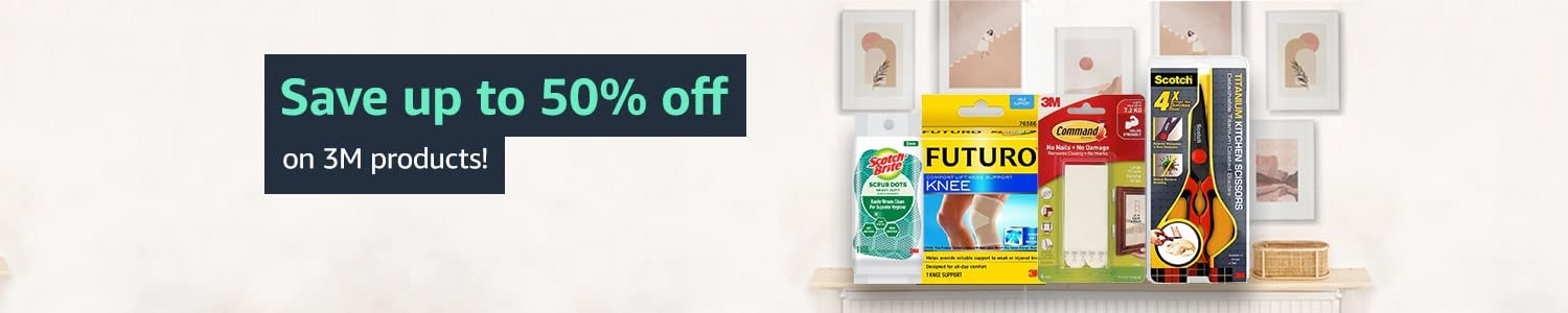 Save up to 50% off on 3M products!
