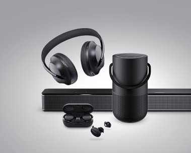 Save up to 35% Bose Headphones & Speakers