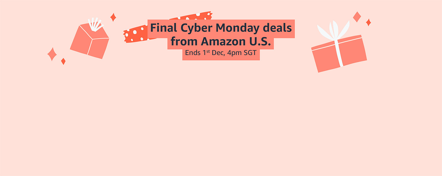 Final Cyber Monday deals from Amazon U.S.