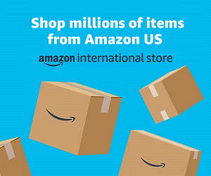 Shop millions of items from Amazon US