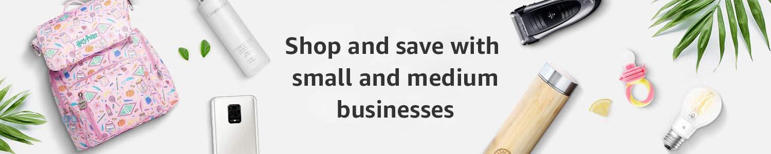 Shop and save with small and medium businesses