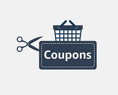 Save up to 30% with coupons