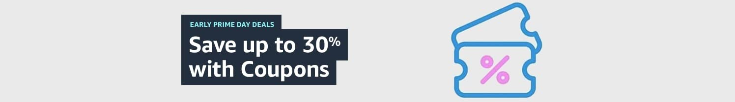 Save up to 30% with coupons.