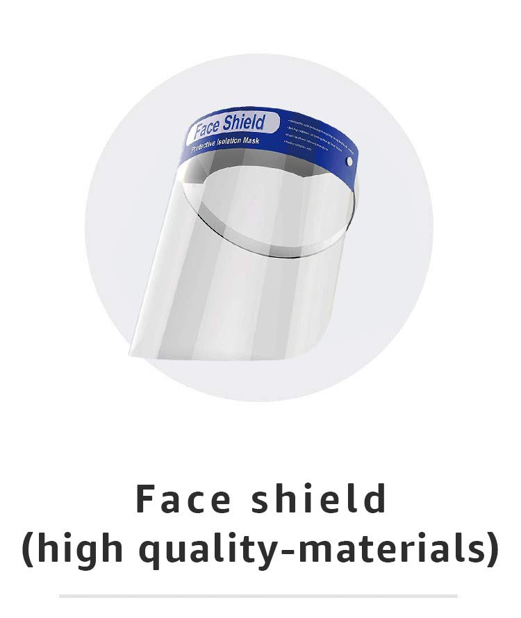 Face shield (high quality-materials)