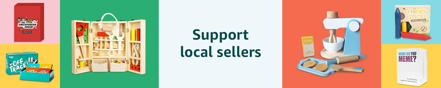 Support local sellers | Holiday Toy Store