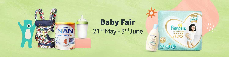 Baby Fair 21st May - 3rd June