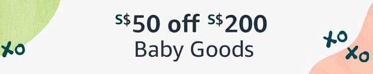 $50 off $200 Baby Goods