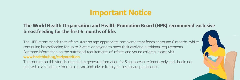 Important notice - Baby Milk Formula