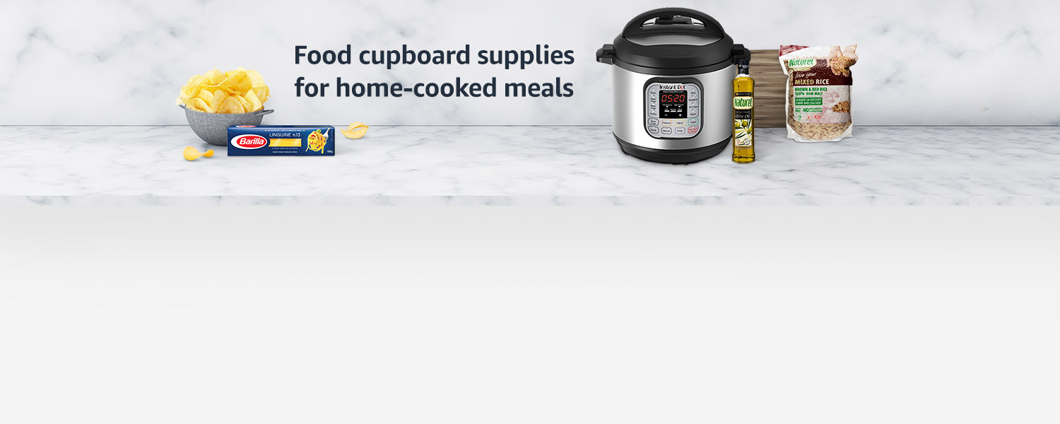 Food cupboard supplies home-cooked meals