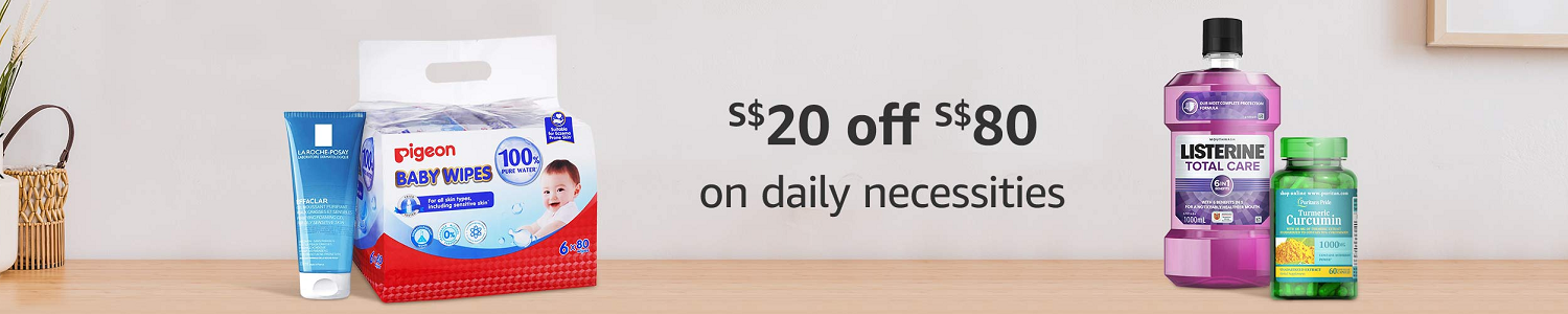 S$20 off S$80 on daily necessities