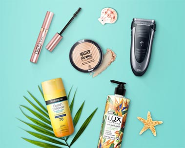 Up to 20% off sun care and beauty essentials
