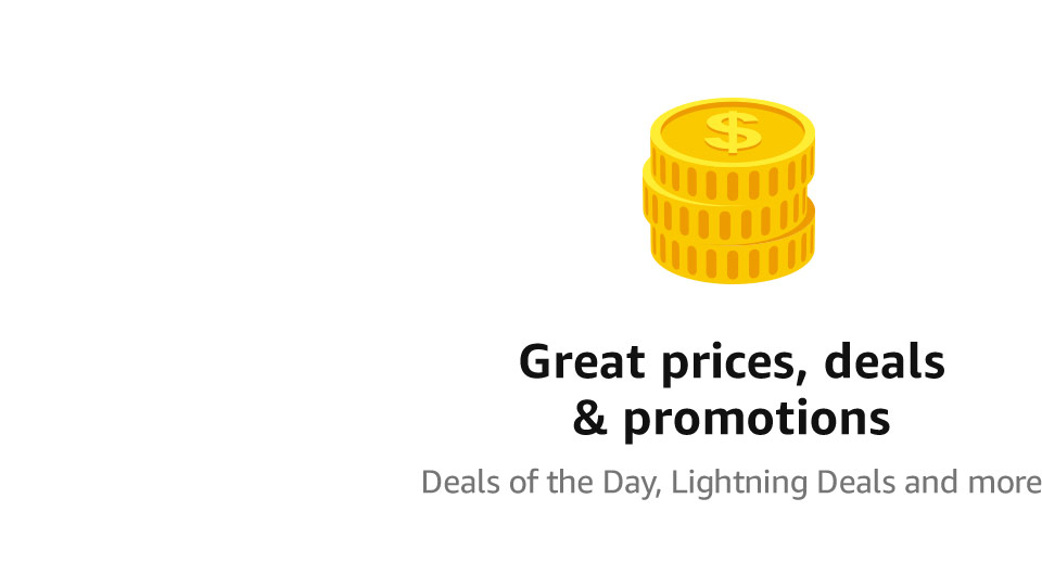 Great prices, deals & promotions | Deals of the Day, Lightning Deals and more.