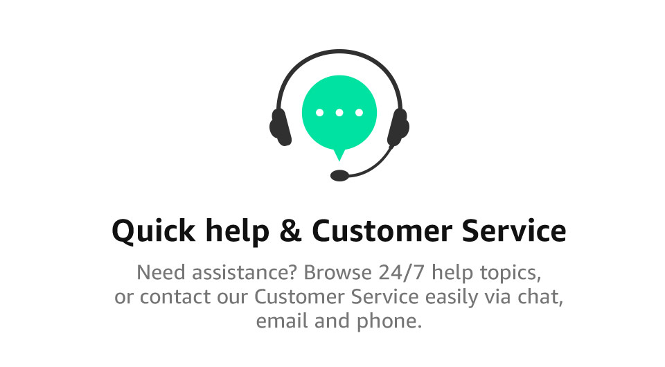 Quick help & Customer Service | Need assistance? Browse 24/7 help topics, or contact our Customer Service easily via chat, email and phone.
