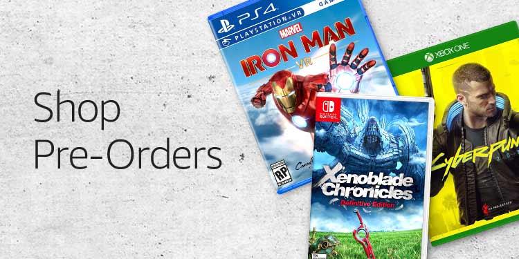 Pre-Orders VG