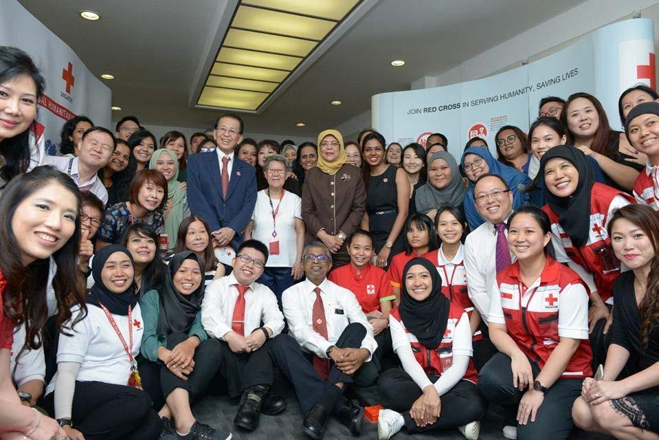 Singapore Red Cross Team