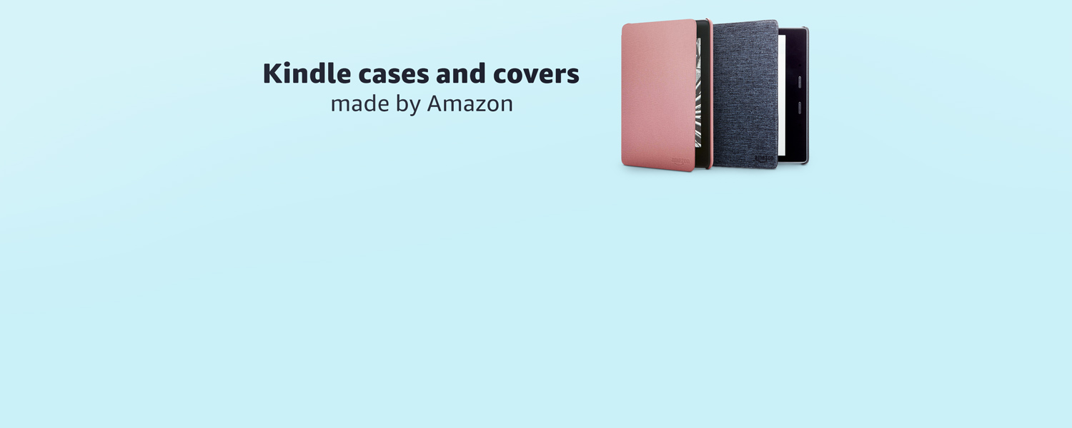 Kindle cases and covers made by Amazon