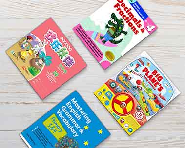 Textbooks and children's activity books