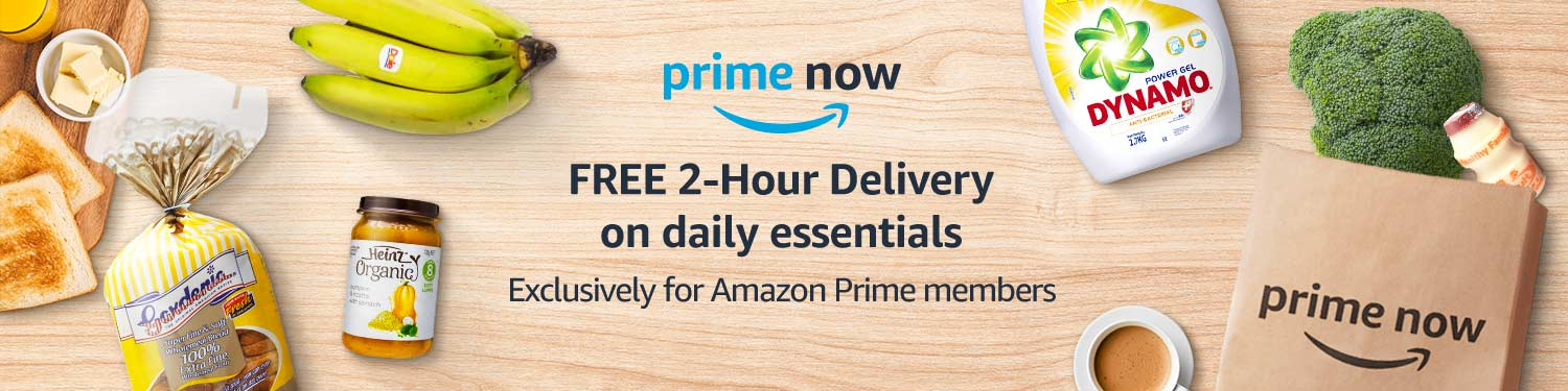 FREE 2-hour delivery on daily essentials