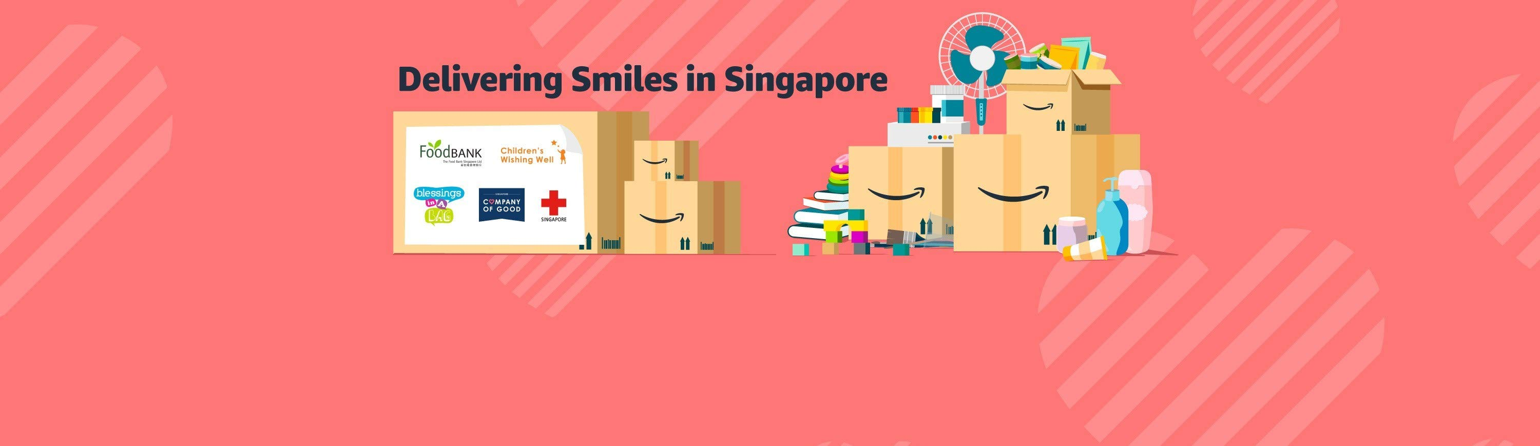 Delivering Smiles in Singapore