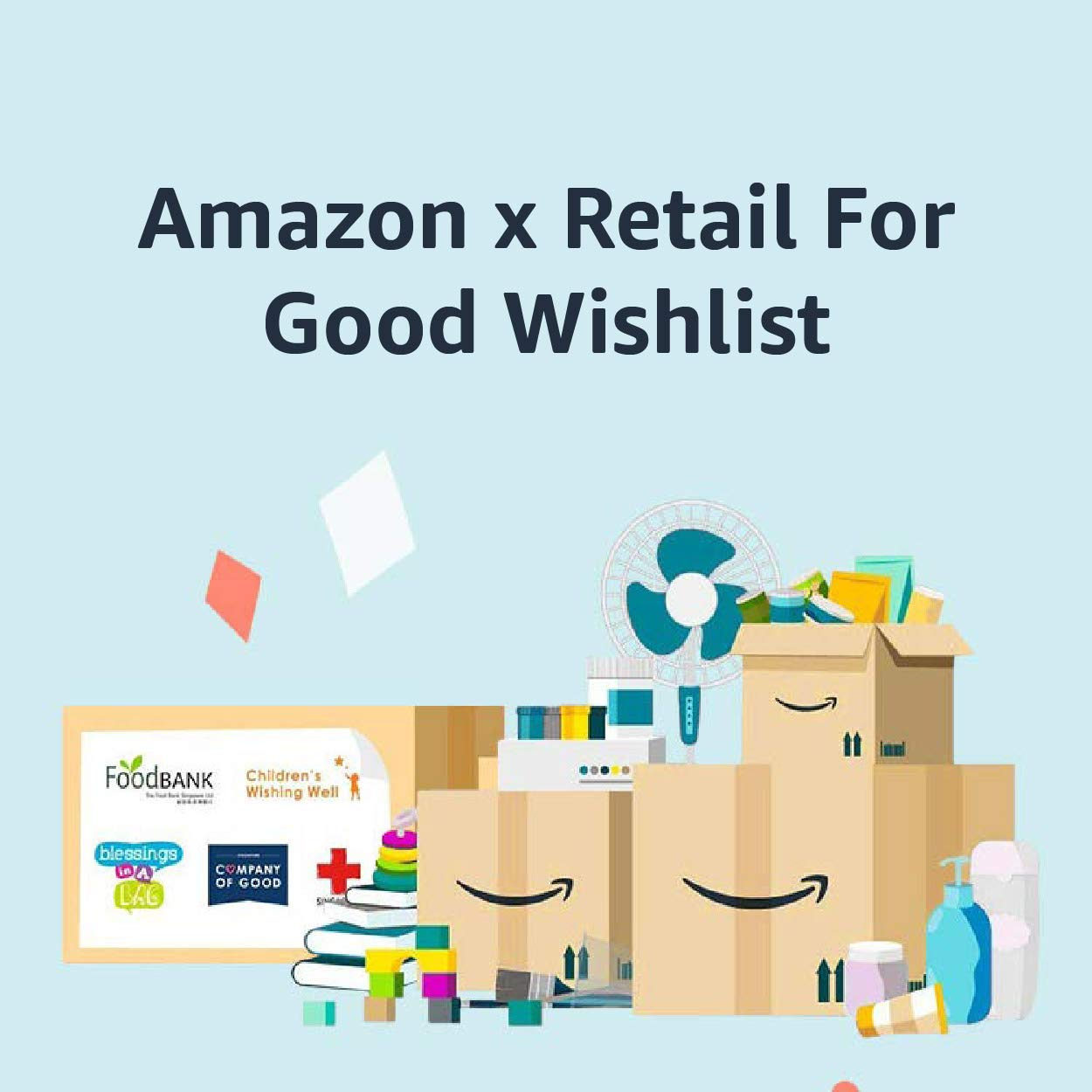 Amazon x Retail for Good Wishlist