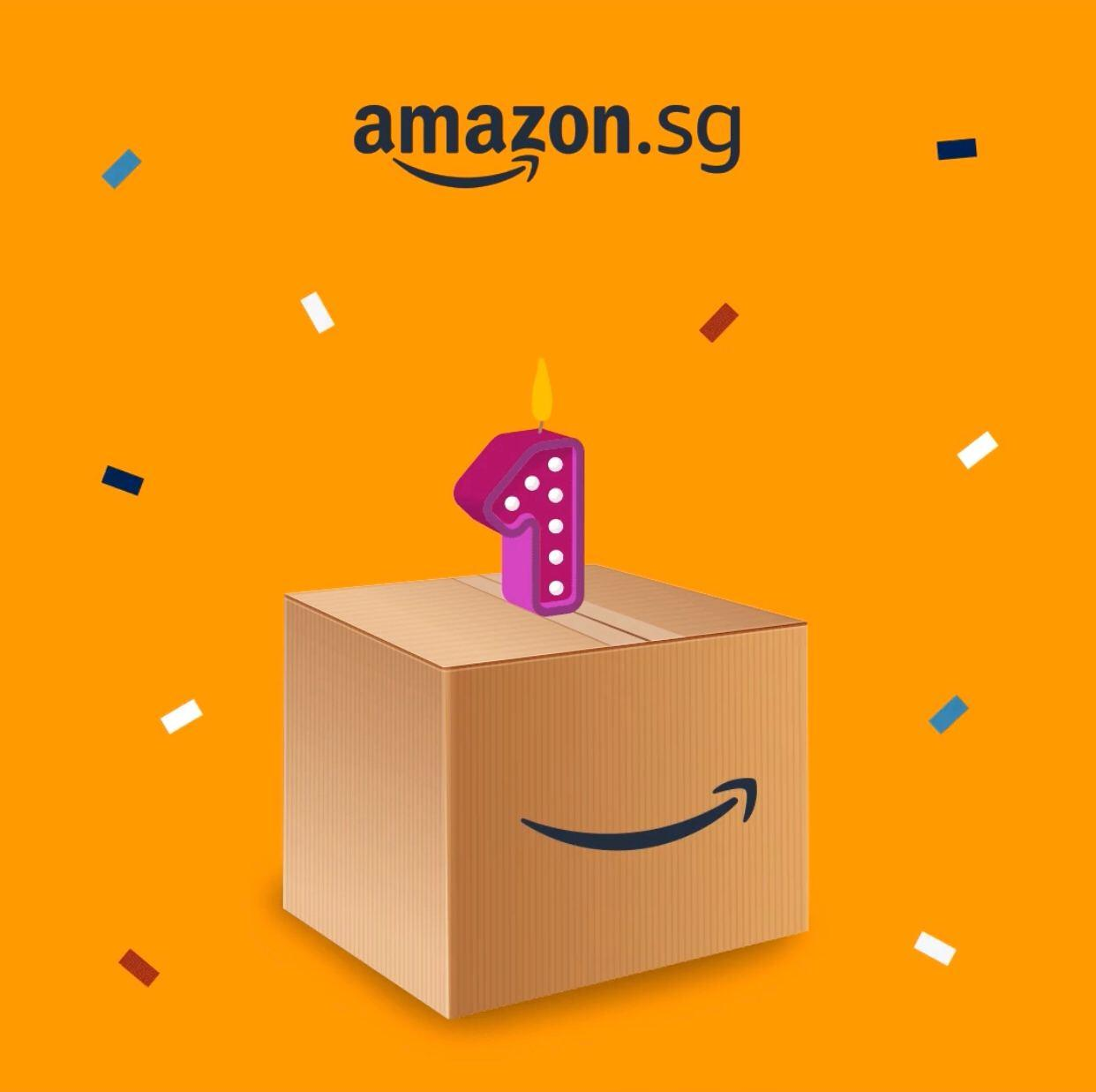 Amazon.sg Turns One