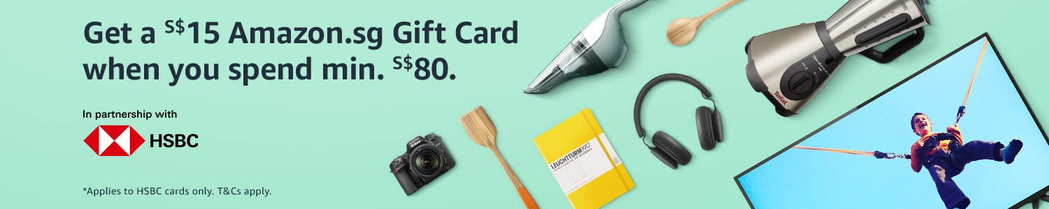 Get a S$15 Gift Card with S$80 spent