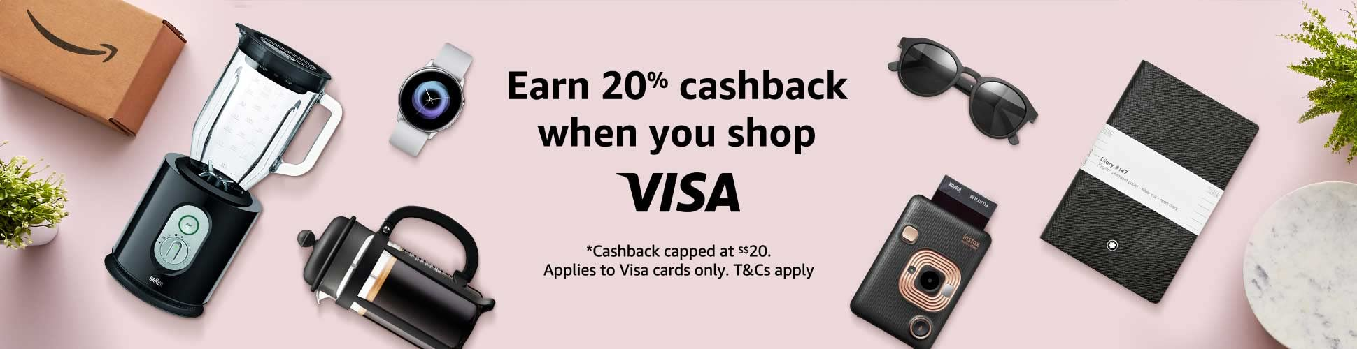 Visa August Promotion